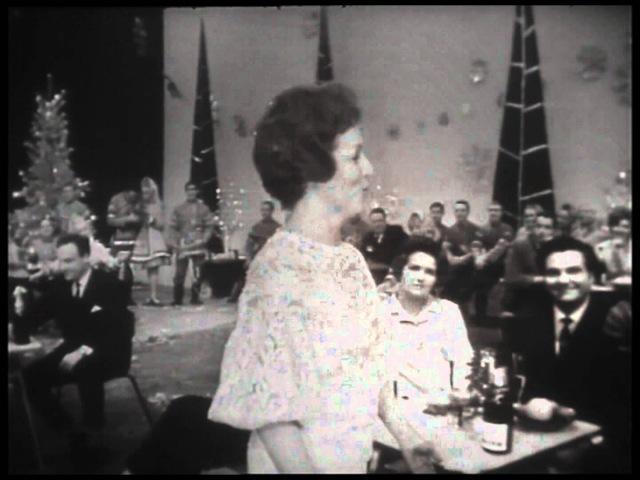 Гелена Великанова Может быть. Новогодний Голубой огонек 1968-69