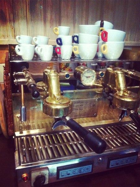 Пити каву - це процес,