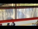Играю с сыном в воздушный хоккей