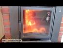 Печь из металла для бани_ установка своими руками