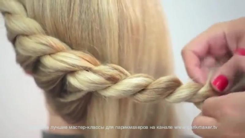 Техника плетения кос видео