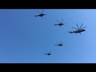 Авиационная часть парада победы! 9 мая 2016г (1 часть)