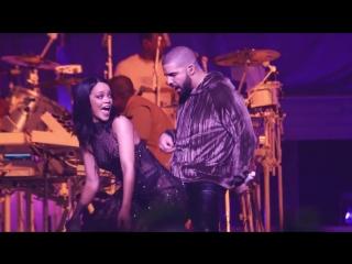 Проф запись выступления Рианна \ Rihanna –Drake -Work  -ANTI World Tour концерт Miami 15 03 2016