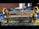 Lego Trains Automated Rotary Dumper, Belt Loader POV ride