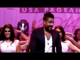 Egyptian Super Star Mohamed Hamaki At Miss Arab USA Pageant