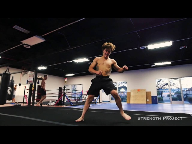 16 Year Old Beast! Sage Vito Tricking and Flips
