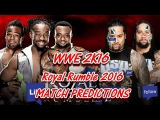 WWE ROYAL RUMBLE (2016) WWE Tag Team Championship The New Day vs. The Usos WWE 2K16 PREDICTIONS