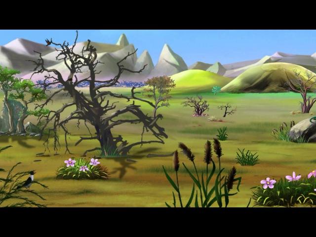 География-малышка - Тундра (3 серия) (Уроки тётушки Совы)