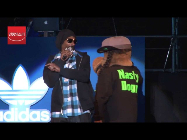 Snoop Dogg 'Tha shiznit' '50cent' P I M P Live 스눕독 내한공연
