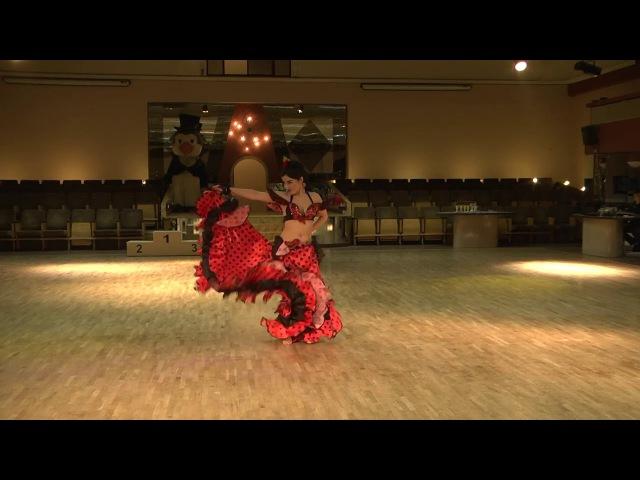 Flamenco oriental Narina Firyan Star Dance studio 1st place on Dancefest 2016