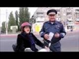 Бабушка и Гаишник Смешное видео Приколы с мотоциклами