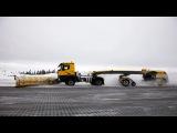 Самая большая подметально - уборочная машина в мире