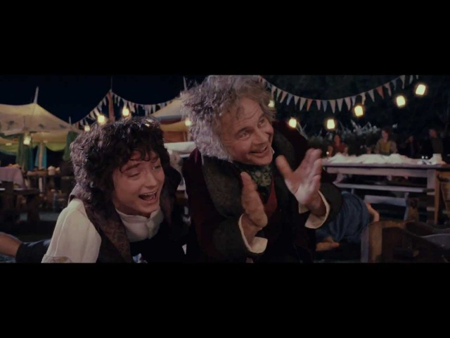 LOTR The Fellowship of the Ring - Extended Edition - Bilbo's Birthday Party HD 1080p