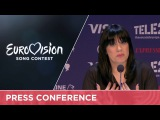 Kaliopi (F.Y.R. Macedonia) Press Conference
