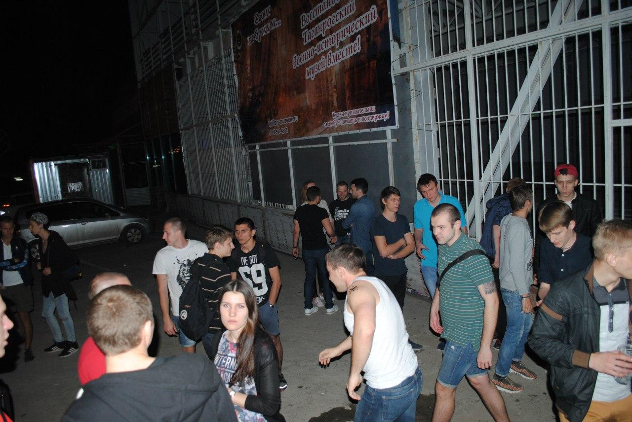 Ночью в таганрогском музее «зажигали»