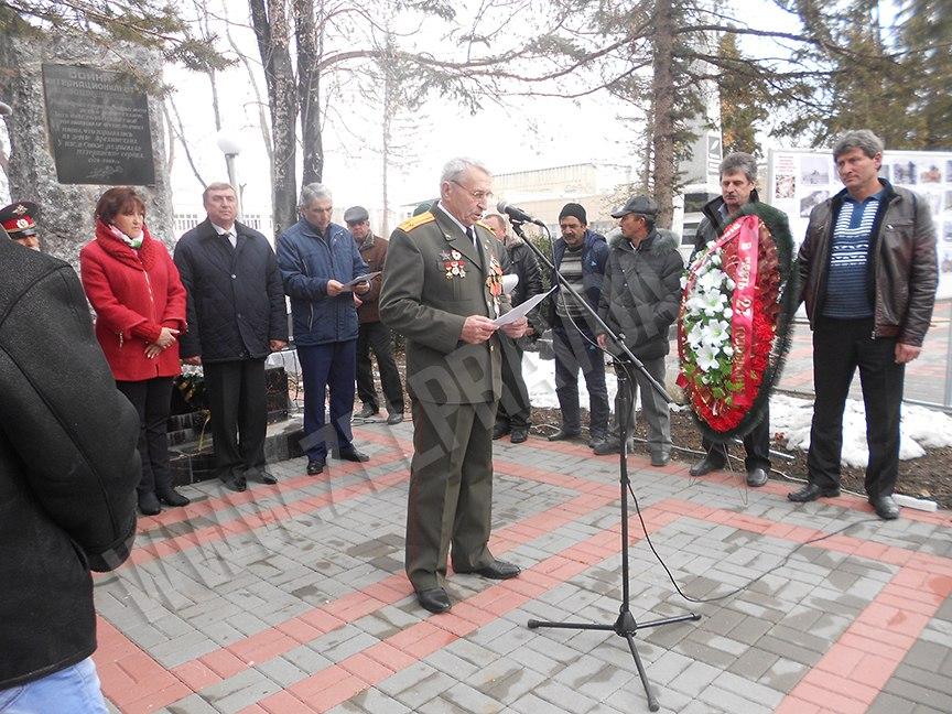 В станице Зеленчукской почтили память погибших в Афганистане воинов
