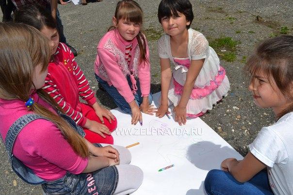 День защиты детей в селе Даусуз