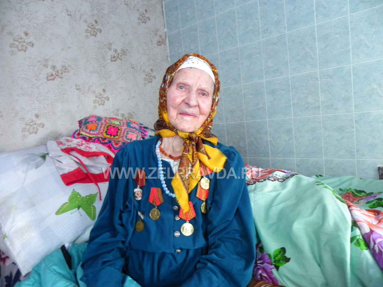 Жительнице станицы Зеленчукской исполнилось 100 лет!