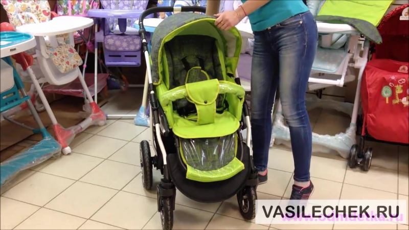 Indigo Charlotte 3 в 1 детская универсальная коляска 2 в 1 Slaro видео обзор vasilechek.ru Сларо Польша