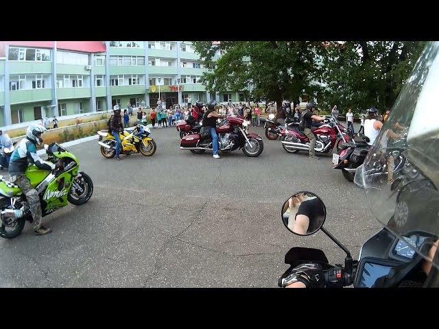 Поездка к детям в РОЦ Русь на мотоциклах