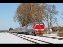ТЭП70БС-239 с агитационным поездом ЛДПР . Станция Ранцево