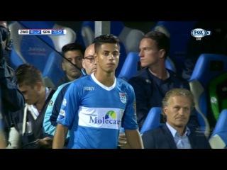 Hachim Mastour vs Sparta Rotterdam (Debut Eredivisie) 13/8/2016 HD by JM