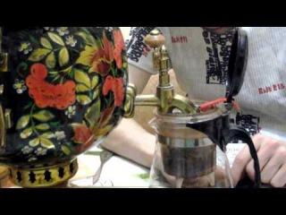 Тест ножа для пуэр из Китая Дегустация китайского чая Шен Пуэр, Дян Хун  у Самовара =)