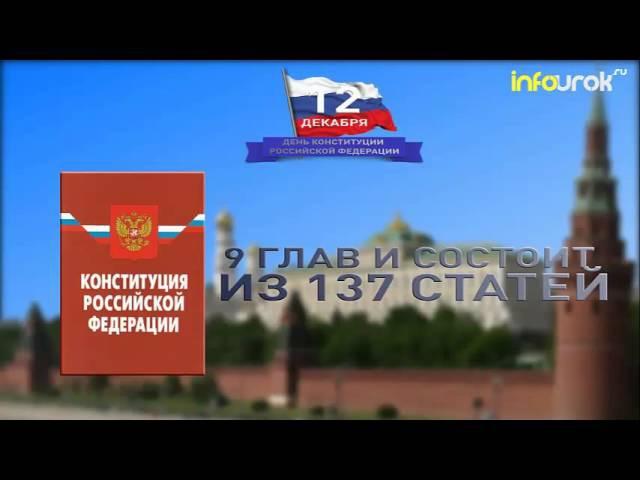 Классный час 20 лет Конституции РФ