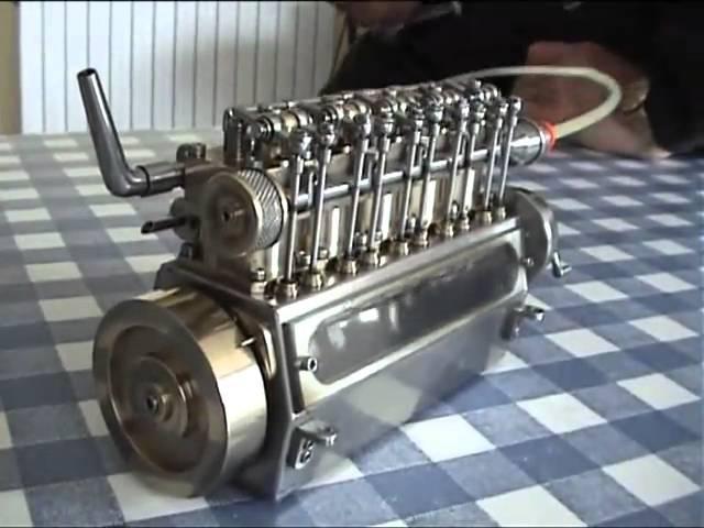 El motor naval artesanal mas pequeño del mundo