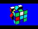 Кубик Рубика. Сборка Кубика Рубика. Кубик Рубика на Хромакее. Футажи на Хромакее