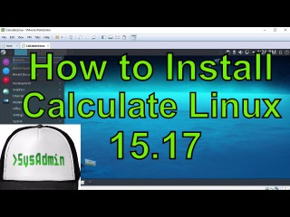 Руководство по установке Calculate Linux 15.17 + VMware Tools на VMware Workstation/Player