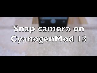 Snap Camera on CyanogenMod 13