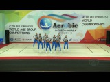 Argentina  (ARG) - 2016 Aerobic Worlds, Incheon (KOR) - Qualifications Dance