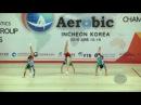 Japan 2 (JPN) - 2016 Aerobic Worlds, Incheon (KOR) - Qualifications Trio