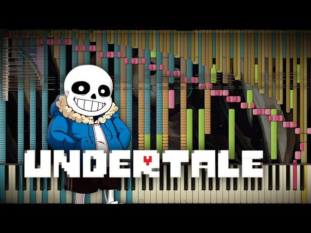 Synthesia Undertale - Megalovania   82,000 Notes   Black MIDI