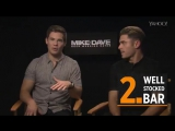 'Mike and Dave' Stars Zac Efron and Adam Devine's 7 Wedding-Planning Tips - YAHOO