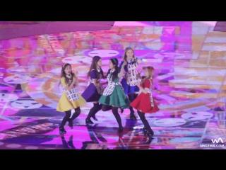 151230 KBS Gayo Daejun 2015| Red Velvet - Dumb Dumb[Fancam]