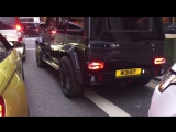 BRABUS G63 AMG VS BMW M4 THE SOUND OF THE EXHAUST!!!