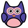 HAND OWL - Ручная сова - Цветы и деревяшки