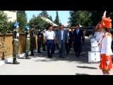 Глава Республики Бурятия Наговицын В.В. в Кыренской школе