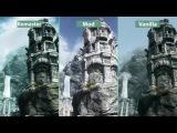 Сравнение Skyrim - Special Edition Remaster vs. RealVision ENB Mod vs.Оригинал