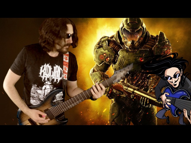DOOM 4 - E1M1 Epic Metal CoverRemix (Little V)