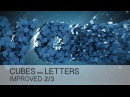 Cinema 4D Tutorial - Cubes Into Letters 23 - IMPROVED version