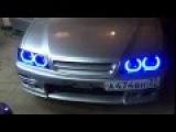 Ангельские глазки на Тойота Чайзер 100 Led Angel Eyes Toyota Chaser 100 by TAU tech TTSL