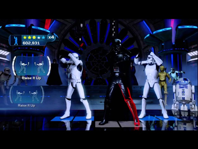 Kinect Star Wars Galactic Dance Off Little White Doves Extended