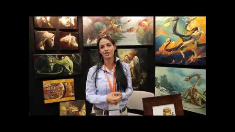Heather Theurer - Master Artist - Fantasy Con 2014