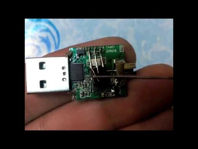 Переделка DVB-T USB донгла для приема КВ диапазона (direct sampling)