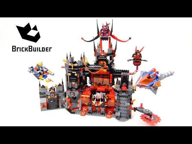 BELA 10521 Вулканическая база Джестро аналог Lego 70323