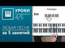 Аккорды на пианино (4/5) - Минорные аккорды