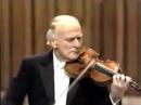 J. S. Bach - Partita III solo violin. Yehudi Menuhin (1985)